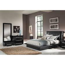 Bedroom Furniture - Dimora Black 5 Pc. Queen Bedroom (Alternate ...