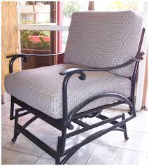 N Stylist Design Outdoor Glider Chair Patio Rocker