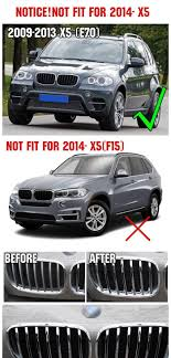 BMW 3 Series 2013 bmw x5 accessories : Fit For Bmw X5 E70 2008-2013 Chrome Front Mesh Grill Grille Cover ...