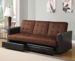 cool queen size futon bed with storage underneath