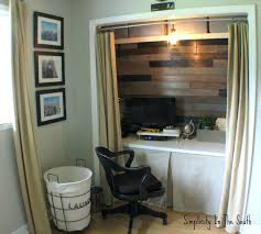 turn closet into office. Awesome Office Design: Turn Closet Into Office. Diy C