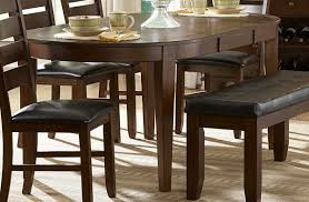 dining room table leaves. Enchanting Oval Kitchen Table With Bench And Ameillia Pc Dining Set Butterfly Leaf Trends Inspirations Room Leaves E