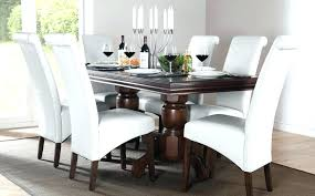 dark wood dining room chairs white and wood dining table set set white dining room white