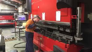 metal brake press. industrial steel brake press metal