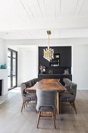 live edge dining table with jonathan adler meurice rectangular chandelier