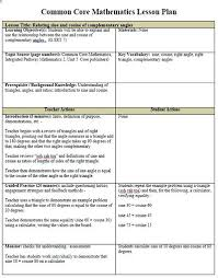 lesson plan template for kindergarten lesson plan examples for kindergarten common core math unit template