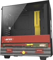 Корпус NZXT H510 CRFT6 Rainbow 6: Siege Black (CA ... - ROZETKA