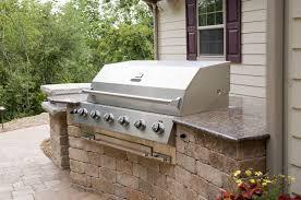 kitchen outdoor built in grill elm grove