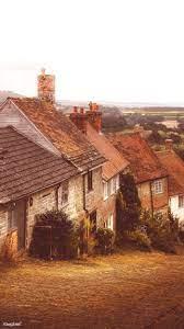 English village ...