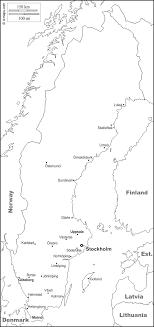 السويد هي ثالث أكبر دولة في الاتحاد الأوروبي من حيث المساحة (450,295 كم2) ويُقدر عدد السكان نحو 10,215,250 ملايين نسمة.2122 السويد منخفضة الكثافة. السويد خريطة مجانية خريطة خاليه من الفراغ خريطة الخطوط العريضة خريطة القاعدة الحرة حدود المدن الرئيسية أسماءخريطة فارغة