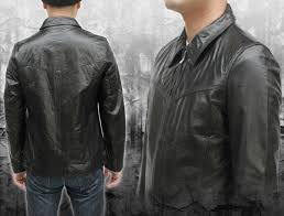 7057 buffalo stain color leather jackets leather jackets leather jacket stainless steel collar leather jean
