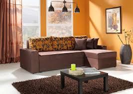decorating living room orange wall ideas home