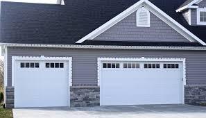 garage door insertswhitearriagestylegaragedoorwithmissionwindowinsertsin
