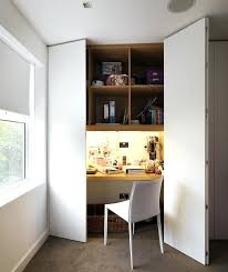 home office hideaway. Hideaway Office Furniture Excellent Ideas A Built In Desk White Painted Hidden Home Computer