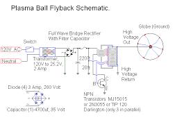 plasma ball power supply plasma ball driver schematic