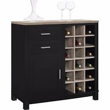 Living Room Wine Bar Buffet Table With Wine Rack Dry Bar Living Room Furniture Wooden