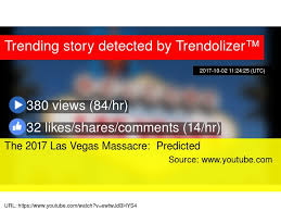The 2017 Las Vegas Massacre Predicted