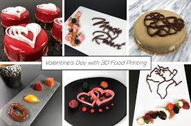 <b>Valentine's Day</b> with 3D Food <b>Printing</b>!