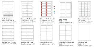 Avery File Folder Labels 5366 Template File Folder Label Template Eciinc Co