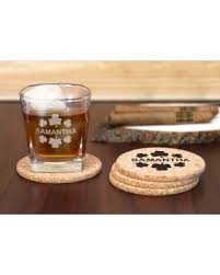 Custom cork coasters Etsy Monogram Online Custom Cork Coasters And Personalized Whiskey Glass Little Things Favors Hello 2019 69 Off Monogram Online Custom Cork Coasters And