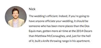 Michelle And Rexs Funny Wedding Website Very Funny