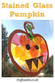 stained glass pumpkin save save