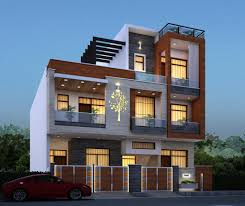 Elevation Design Photos Residential Houses Residential House Elevation Design By Weframe Weframe