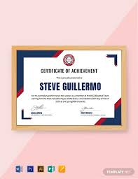 6 Free Sports Certificate Templates Word Psd Indesign