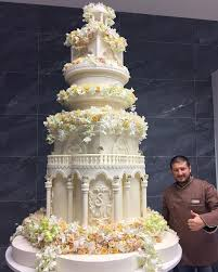 Is This The Most Expensive Wedding Of All Time White Cakes