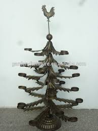 Christmas Tree Ornament Display Stands Adorable Antique Holiday Home Ornament Display StandWrought Iron Candle