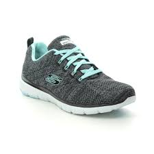 Light Blue Skechers 13077 High Tides Fle