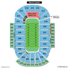 Resch Center Seating Chart With Seat Numbers 61 Eye Catching Resch Center Detailed Seating Chart