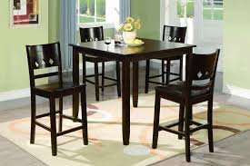 picture of espresso counter height dining set