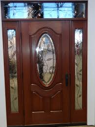 Decorative Front Door Glass Exterior  Interior Doors Beveled - Exterior door glass replacement