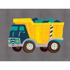 transportation dump truck by irene chan canvas art on oopsy daisy transportation wall art with oopsy daisy transportation dump truck by irene chan canvas art wayfair