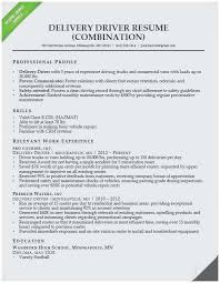 Delivery Driver Resume Examples Truck Driver Resume Sample Best Rn Resume Sample Unique Writing A