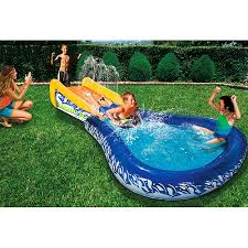 Inflatable Water Slides  The Soakers BibleWater Slides Backyard