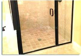 how to clean hard water spots on glass shower doors hard water stains on shower doors