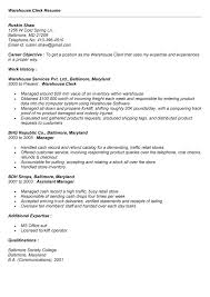 Shipping Receiving Clerk Resume Sample Manager Resume Template Carpinteria  Rural Friedrich