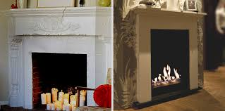 to achieve this look in already existing fireplace all you need is a bio container and a holder sold separately then some stock of fuel and you can have