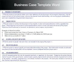 Business Brief Example Sample Business Case Template Pretty Resume Outlay Photos Example