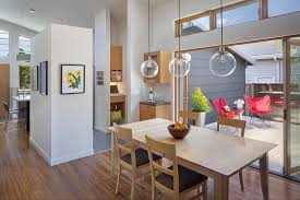 glass pendant light for pretty dining room colors with sliding glass door and wood flooring ideas