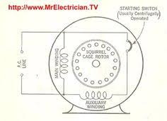 split phase single value capacitor electric motor dual voltage split phase induction electric motor diagram