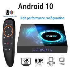Android 10.0 TV Box 6K 4K 1080P Youtube H616 Quad Core 4GB 32GB 64GB H.265  Wifi 2.4G Media Player Set Top Box|Set-top Boxes