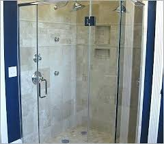 build your own shower build your own shower doors a best of stone glass installation bathroom