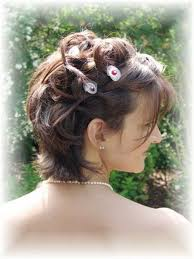 Modele Coiffure Mariage Cheveux Courts