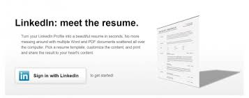Linkedin Resume Generator Cool Linkedin Resume Creator Colbroco