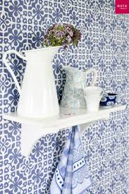 Wallpaper Azulejos Tiles Collection Ginger Estahomenl Behang