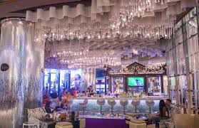 luxury chandelier bar las vegas ideas