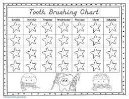 Free Printable Tooth Brushing Chart 70 Memorable Tooth Brush Chart